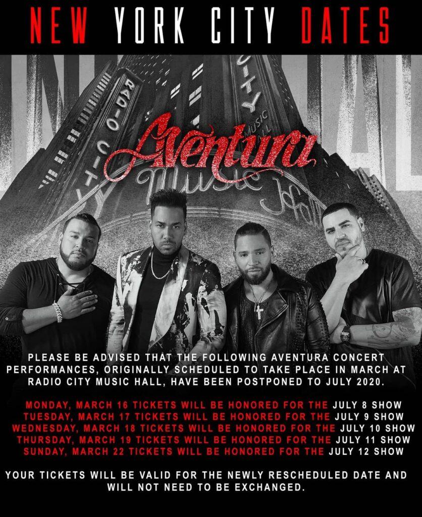 Aventura Tour 2020