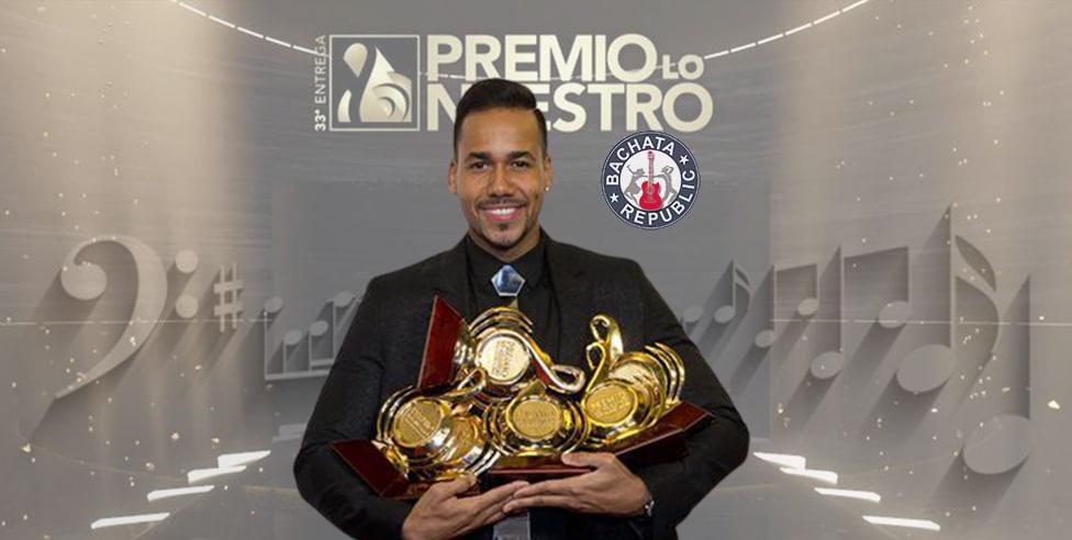 Romeo fue el más exitoso de los artistas dominicanos en Premio Lo nuestro