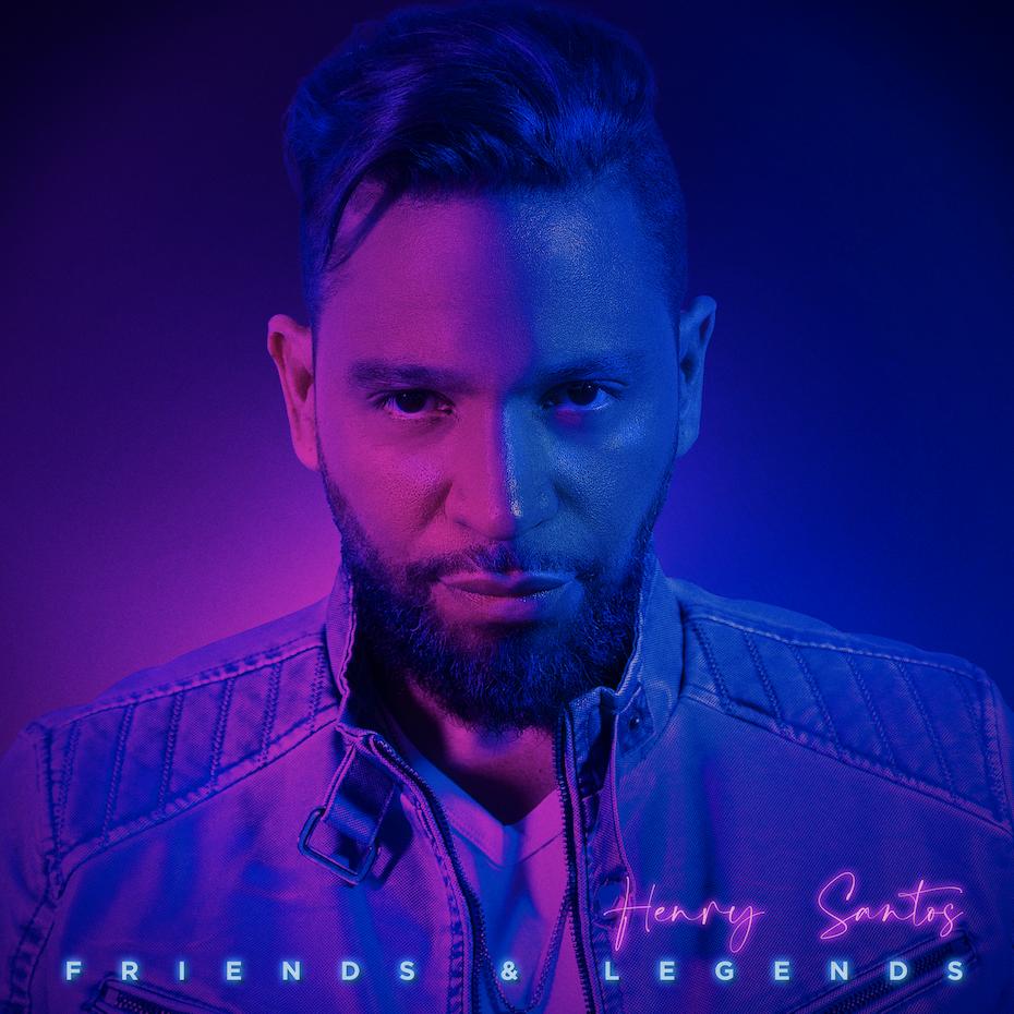 Cóver del álbum Friends and Legends de Henry Santos