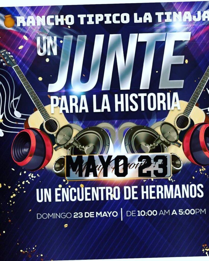 """Imagen promocional del Junte para la Historia, organizado por Memin """"El Sucesor"""""""