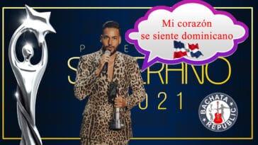 """Romeo Santos: """"Mi Corazon se siente Dominicano"""""""