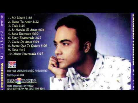 Contraportada de Me Liberé, primer álbum de Zacarías Ferreria